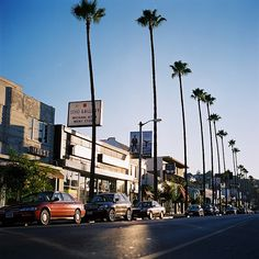 Ventura Blvd - Studio City. I wonder what it will look like in another few years. One of these shops should have my name on it!