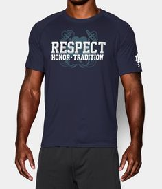 Men's Notre Dame UA RESPECT T-Shirt | Under Armour US