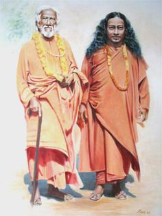 Yogananda + Yukteshwar