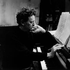 Composer Phillip Glass. {I love his work.} ~Repinned Isabel Carreira http://theimpossiblecool.tumblr.com/page/4