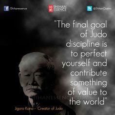 Goal of judo