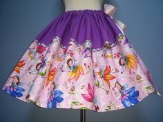 OOK Sparkly Fairy Skirt, Rare Fabric, Plus Size, All Sizes, CUTE!