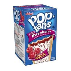 Kellogg's Pop-Tarts Frosted Raspberry Toaster Pastries, 14.7 oz