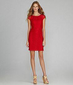 Marc New York Lace Shift Dress #Dillards