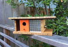 Architectural Birdhouses by Sourgrassbuilt