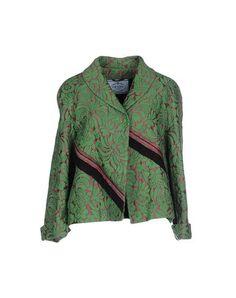 #Prada giacca donna Verde  ad Euro 596.00 in #Prada #Donna abiti e giacche giacche