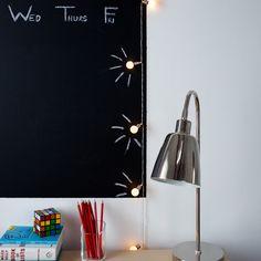 10 LED Retro Bulb Battery Fairy Lights | Lights4fun.co.uk