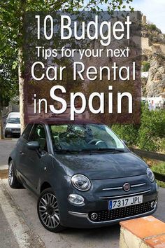 Money Saving Tips for Car Hire in Spain – Budget Tips for Rental Cars Experienced based guide on renting a car in Spain. Money saving tips on car hire in Spain and budget tips for renting a car and driving in Spain. Europe Travel Tips, Spain Travel, Travel Advice, Budget Travel, Travel Guides, Backpacking Europe, Budget Car, Travel Stuff, Cheap Travel