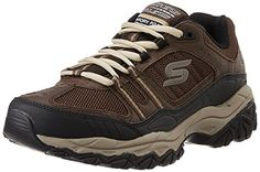 Skechers Sport Mens Afterburn Strike Memory Foam LaceUp Sneaker >>> Want to know more, click on the image. (This is an Amazon affiliate link)