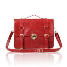 $14.09 Retro and Casual Women's Shoulder Bag With Solid Color and Buckle Design