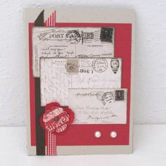 Vintage Style Card  Any Occasion  Vintage by PrettyByrdDesigns, $4.00