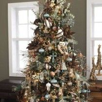Ideas para decoracion de arbol de Navidad 2015 - 2016, si los que buscas con las tendencias en decoración para este año no puedes perderte esta publicación.