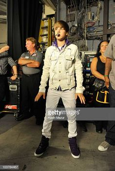 Justin Bieber My World Tour Madison Square Garden Backstage Stock Pictures, Royalty-free Photos & Images <br>