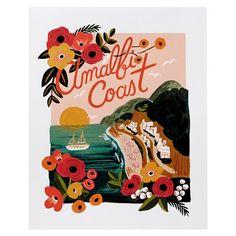 Amalfi Coast by Rifle Paper Co. Insert