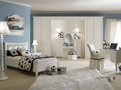 The beauty in luxury girls bedroom tailor made for a stylish space in fashionable styles – art deco for your child, so it looks attractive. Other than luxury girls bedroom is a variant of the most contemporary of them. In luxury girls bedroom also supported all the major elements such as a bed, desk cabinets, and carpets. Also in luxury girls bedroom accessories can also add contrast and black so it looks stylish design with room girls. Luxury girls bedroom touch of gold may also be suitable f
