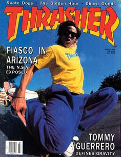 Tommy Guerrero, March '88