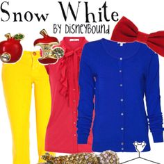 Every day snow white outfit!