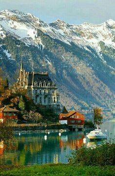 Seeburg Castle, Switzerland l Places to visit l Travel destination l Tourism Places Around The World, The Places Youll Go, Places To See, Around The Worlds, Beautiful Castles, Beautiful World, Beautiful Places, Places To Travel, Travel Destinations