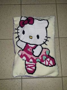 Hello Kitty Kissen Rückseite