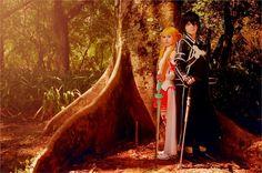"""""""Yuuki Asuna. Kirito. SAO.  - Kaede Chan(Suninha ) Asuna, Rena(Rena Chan) Kirito Cosplay Photo"""""""