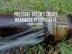 Pressure doesn't create weakness, it exposes it. Motivation For Today, Weakness Quotes, Jack Welch, Entrepreneur Inspiration, Daily Inspiration Quotes, Small Business Marketing, First Names, Inspire Me, How To Become