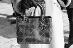 Dior's Lady Dior Bag   Le Sac Lady Dior de Dior  http://Icon-Icon.com