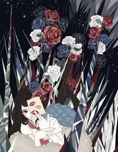 「綺麗な薔薇には棘がある」by「銀行@ついったー」のイラスト [pixiv] member ID:2107623