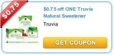 $0.75 off ONE Truvia Natural Sweetener - Just $1.99 at Wegmans