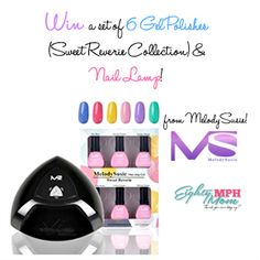 #MelodySusie Nail Lamp & Gel Polishes #giveaway | Sorteos gratis