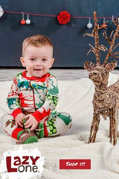 5b9d639756 Christmas Matching Pajamas are such a fun way to create photo ops with your  little ones