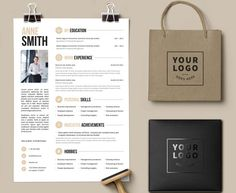 EXPRESS YOURSELF ♦ ◦◦◦◦◦◦◦ Your resume should reflect your personality. Imagine to have fully editable resume template which presents you in Modern Resume Template, Resume Template Free, Creative Resume Templates, Free Resume, Free Cover Letter, Cover Letter Template, Cv Design, Resume Design, Clean Design