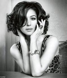 Monica Bellucci (for Cartier) .....