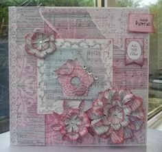Handmade by Maureen - A Blog: A New Year and A New Home Card for A New Challenge at Just for Fun