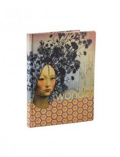 Papaya Art Large Journal - Wonder