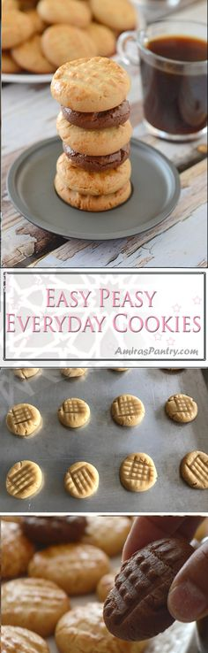 Here's a cookie, not just any cookie, but a fast easy cookie . Easy to make and even easier to eat, very forgiving cookie recipe.