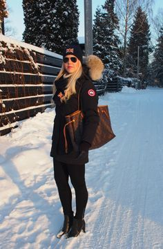 Canada Goose outfit. #daily #winterwear