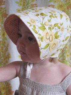 little daydream bonnet (too cute!) by littlebettydesigns