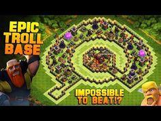 Clash Of Clans   Phenomenal TH10 Troll Base   The Island   EPIC MINI GAME MODE?! [TH10 Base 2016]