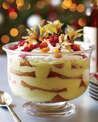 Italian Trifle with Marsala Syrup