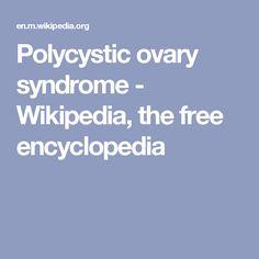 Polycystic ovary syndrome - Wikipedia, the free encyclopedia