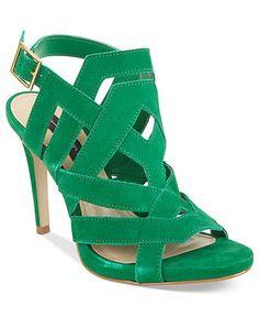 STEVEN by STEVE MADDEN #green #sandals #heels BUY NOW!