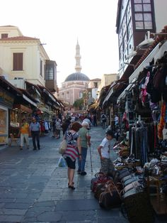 Old Town:  Rhodes, Greece:  Photo Credits:  @Amanda Nethery