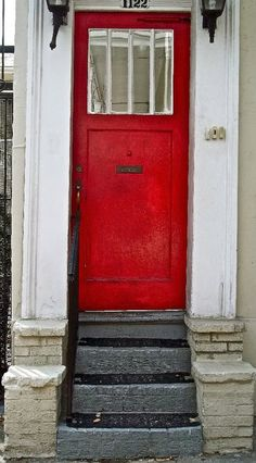 I really want a red front door.
