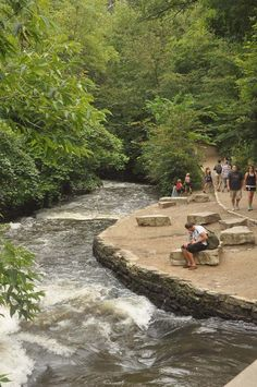 Enjoy a Walk from Waterfall to the Mississippi River