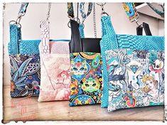 Le petit fil savoyard sur Instagram: Sélection du jour : les sacs Chachacha 🥰 Des chats, des motifs aborigènes, des tatoo vintage et de la toile de Jouy. Les couleurs sont…