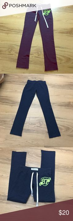 Aeropostale leggings/sweatpants super cute XS❤️ Aeropostale leggings/sweatpants super cute XS❤️ straight leg Aeropostale Pants Track Pants & Joggers