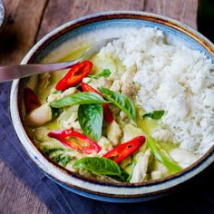 Thai Green Chicken Curry | The Domestic Man