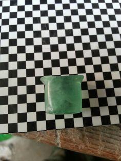 Green fluorite 18x10mm labretplug