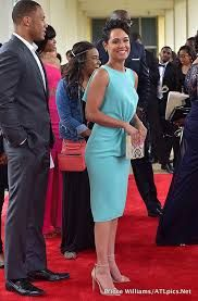 Grace Gealey and her husband both in Empire Next Fashion, Fashion 101, African Traditional Wedding Dress, Kente Dress, African Wear Dresses, Barbie Dress, Madame, Classy Dress, Elegant Dresses