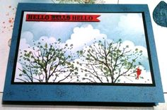 hello red bird by gabby89 - Cards and Paper Crafts at Splitcoaststampers